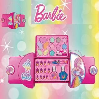 Barbie Make-Up Set HANDTASCHE Kinder Schmink-Set NEU #2001