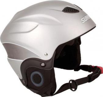 SKIHELM Snowboardhelm Ski Helm silber Gr. XS (52-54) Skisport Snowboard Unisex
