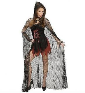 Kostum Netz Umhang 150cm Fischernetz Halloween Karneval Hexe Vampir