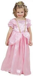 PRINZESSIN KLEID ROSA Gr. 110 Mädchen Kostüm Karneval 1275