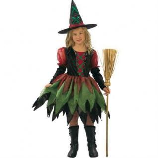 Kinder Kostüm Hexe Fairy Witch 4-6 Jahre Waldhexe Hexe Hexenkostüm