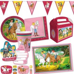 BIBI und TINA Riesenauswahl - Alles zum Kinder Geburtgstag - Pferde Party Deko