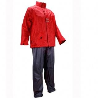 RALKA Regenanzug wasserdichte Hose & Jacke mit Kapuze für Damen Herren #ROA