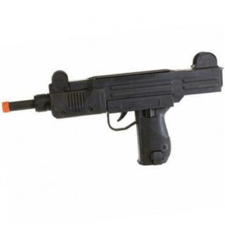 Uzi Maschine-Pistole Kinder Spielzeug Gewehr Kostüm Zubehör Karneval #7083