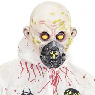 BIO UNFALL MASKE Halloween Kostüm Toxic Horror Zombie Gift Gas Virus Seuche 843