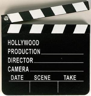 Hollywood Party Regie Klappe Motto Party Deko Geburtstag Film Party Movie Party