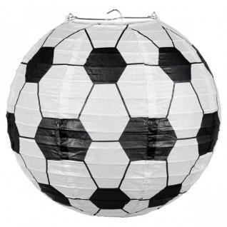Fußball Laterne 25 cm Geburtstagsparty Deko Fußball Party Aufhänger