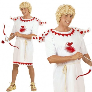 Liebesbote Glücksbote Amor Engel Herren Kostüm Gr. S (46) Karneval Fasching NEU