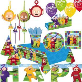 TELETUBBIES - Alles zum Kindergeburtstag - Geburtstag Kinder Party Deko Lala Po