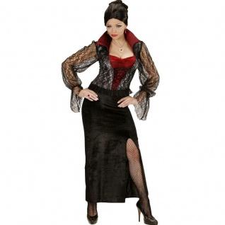 TOP VAMPIRESSA Damen Kostüm 34/36 (S) Zauberin Vampir Hexe Gothic