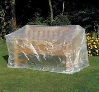 Profiline Schutzhülle Transparent 160x75x78 cm Möbelschutzhülle Gartenbänke