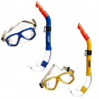 TAUCHSET Anaconda für Jugendliche - Maske & Schnorchel - Farbauswahl blau / gelb