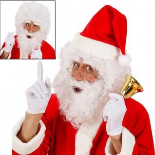 WIDMANN - Weihnachtsmann Nikolaus Perücke mit Bart und Augenbrauen #1530