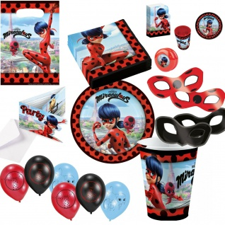 MIRACULOUS Ladybug - alles zum Kinder Geburtstag Party Dekoration Auswahl