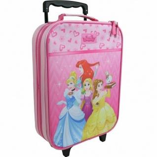 DISNEY PRINCESS PRINZESSIN Kinder Trolley Koffer Handgepäck Kinderkoffer Pink