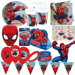 Ultimate SPIDERMAN Kindergeburtstag Motto Party Geburtstag Deko Set Kinder Power