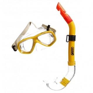 Tauchset für Jugendliche ANACONDA gelb Schnorchel und Maske BEST Sporting #5561