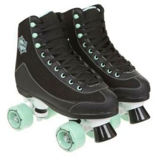Roller Skates Rollschuhe für Damen Herren und Kinder im Retro Design Leder