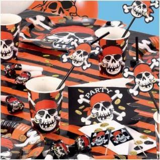 Pirat Jolly Roger Kindergeburtstag Piratenparty Motto Party Deko Set
