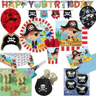 KLEINER PIRAT little Pirates Kindergeburtstag Party Deko Geburtstag - Piraten