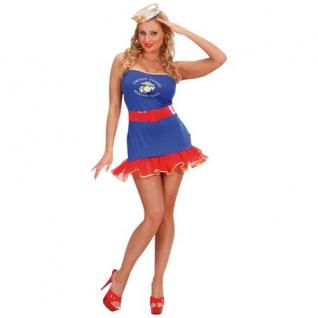 Kostüm Navy Girl Kleid und Gürtel Größe S Widmann