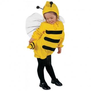 LITTLE BEE KINDER KOSTÜM Gr.110 Biene Märchen Karneval Tiere Fasching