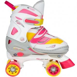 Rollschuhe Roller Skates Kinder Semi Softboot Rave Skate verstellbar - 2018 NEU