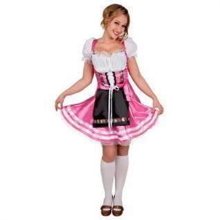 Damenkleid Bayern Dirndl Gr. M 38 - 40 pink traditionell Trachten Damen Kostüm