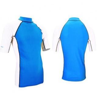 UV-Schutz Lycra Shirt Herren Trikot Kurzärmelig Faktor 40+ UPF S M L XL XXL