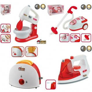 Kinder Haushaltsgeräte Kinderküche Staubsauger Mixer Bügeleisen Toaster AUSWAHL