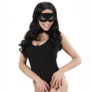Gesichtsmaske Katze (Cat) Catwoman Augen Maske Katzenmaske Gothic schwarz 8734