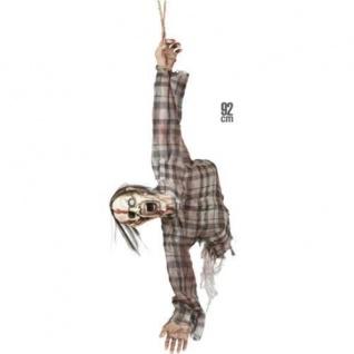 """ZERISSENER ZOMBIEOBER KORPER"""" 92 cm hängend Halloween Puppe Deko Figur #1405"""