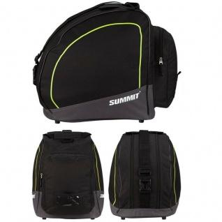 Skischuhtasche Ski Boots Bag Skistiefel Snowboardschuhe Tasche -schwarz/gelb-