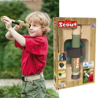 Scout Kinder TELESKOP mit Gürteleinheit Entdecker-Zubehör 12-fache Vergrößerung