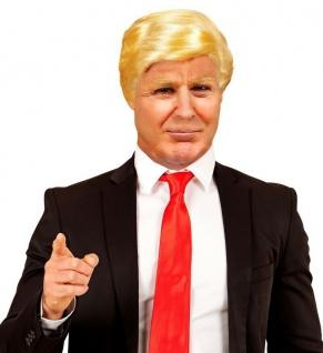 US Mr. President Donald Herren Perücke blond - Karneval Fasching #02097