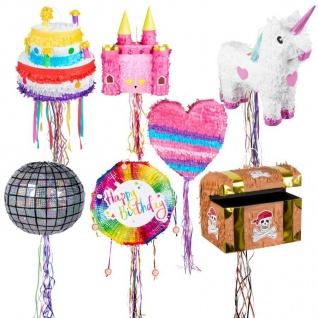 Zug Pinata - zum Befüllen - Kinder Geburtstag Party Spiele - AUSWAHL -