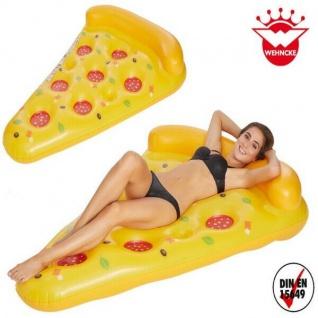 XXL Pizza Schwimmreifen Schwimmring Luftmatratze Wasserspielzeug #7631