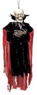 HALLOWEEN Vampir Dracula Skelett ca 90 cm groß PARTY DEKORATION 670304