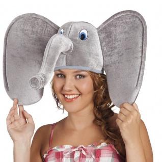 Lustige ELEFANTEN MÜTZE Tier Mütze Party Hut Kostüm Zubehör Karneval #949