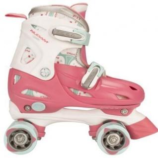 Mädchen Girls Rollschuhe Rosa Größe verstellbar 27-30, 30-33, 34-37 Skater