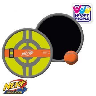 NERF NEOPREN FANGBALL SET 2 Fänger Ø 19cm + Ball Strand Klettball Spiel #16576