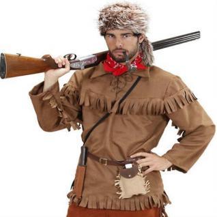 Herren Kostüm TRAPPER Scout Western Cowboy Fasching Gr. 46 48 50 52 54