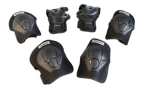 Protektoren Set Kinder Schützer Inliner Rollschuhe L 33-35 Schutzausrüstung