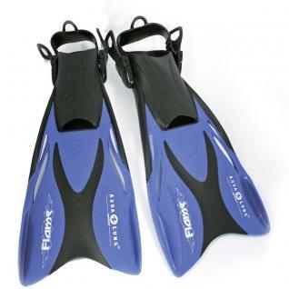 Aqua Lung - Flame Junior, Schwimmflossen für Kinder Farbe blau Gr. 27-36 AUSWAHL