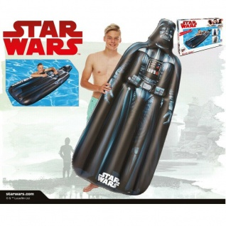 Happy People 16346 Luftmatratze - Badeinsel Star Wars Darth Vader NEU