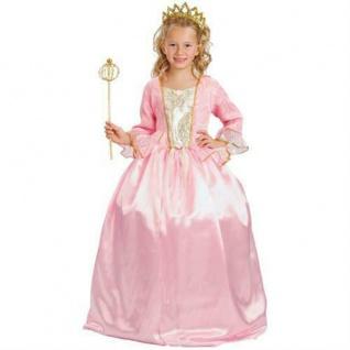 Prinzessin Rosaline Kinder Kostüm 4-6 Jahre - Prinzessinnen Kleid