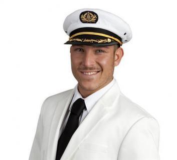 Kapitänsmütze Kapitän Mütze Hut Marine Uniform Kappe