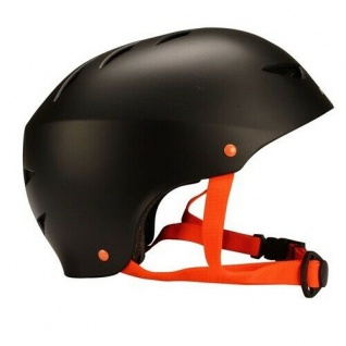 SKATERHELM Kinderhelm Inliner Helm SCHWARZ Gr. S 50 - 54 cm #75CG/ZWO