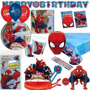 SPIDERMAN Ultimate - Alles zum Kindergeburtstag - Geburtstag Party Deko Kinder
