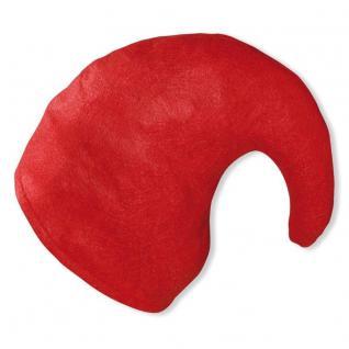 ZWERGENMÜTZE in rot für Erwachsene Zwergen Hut Mütze rote Gnommütze Zwerg